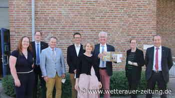 Achim Merget-Gilles verabschiedet - Wetterauer Zeitung