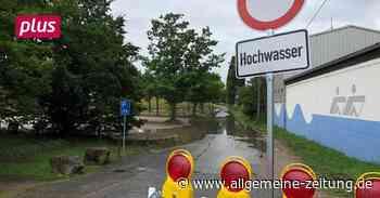 Hochwasser: Feuerwehren in Mainz-Bingen rüsten sich - Allgemeine Zeitung