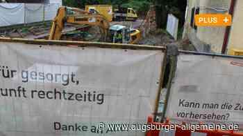 Die Baustelle am Thürheimer Tor bleibt länger bestehen - Augsburger Allgemeine