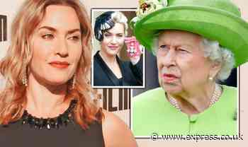 Queen 'pushed away' Kate Winslet's handshake when actress received CBE - Express