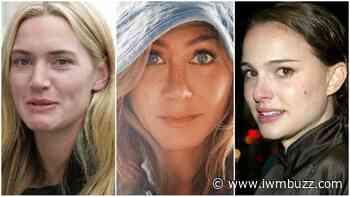 Jennifer Aniston Vs Kate Winslet Vs Natalie Portman: Whose No Makeup Look Do You Like Better? - IWMBuzz