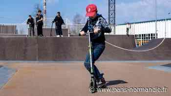 Un skatepark de 1000m² en projet à Val-de-Reuil - Paris-Normandie