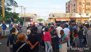 Suspensión de vacunación en polideportivo causa protesta en Maturín - El Pitazo