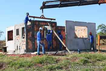Construção de 34 casas está em andamento em Cruzeiro do Oeste - OBemdito