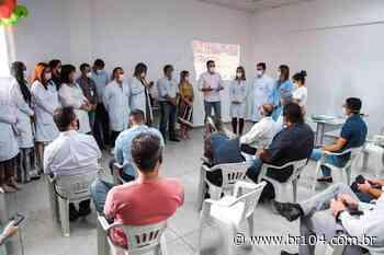 Alexandre Ayres e deputado Paulão visitam HRM, em União dos Palmares - BR 104