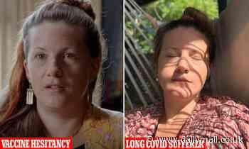 Byron Bay woman Mirabai Nicholson-McKellar has vaccine hesitancy despite suffering long Covid - Daily Mail