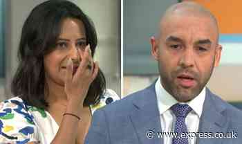 Alex Beresford brands Ranvir Singh 'one of the strongest people' as she breaks down on GMB - Express
