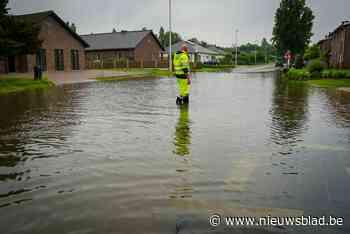 """Ook in Hulst wateroverlast: """"Toiletwater spuit alle kanten uit"""""""