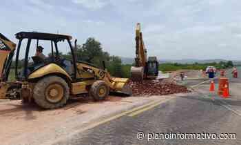 Reabren a la circulación la carretera de cuota Cerritos – Tula - Plano informativo