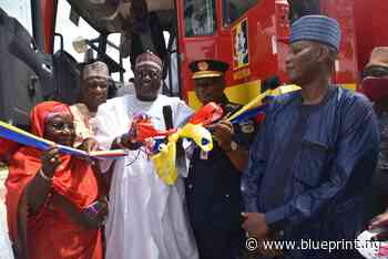 Deployment of modern fire-fighting truck, others excite Buni in Yobe - Blueprint newspapers Limited