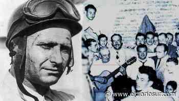 """Juan Manuel Fangio, un """"habitué"""" de Monte Grande - El Diario Sur"""