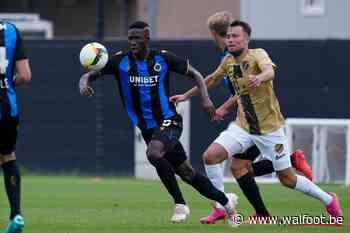 Le Club de Bruges s'incline face à Utrecht pour son dernier match de préparation - Walfoot.be