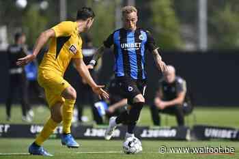 Le match amical du Club de Bruges sera à suivre en direct sur YouTube et Eleven Sports - Walfoot.be