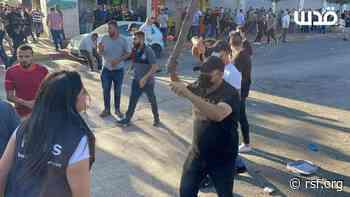 Palestina: Al menos 35 periodistas heridos durante las protestas en Cisjordania   Reporteros sin fronteras - Reporters sans frontières