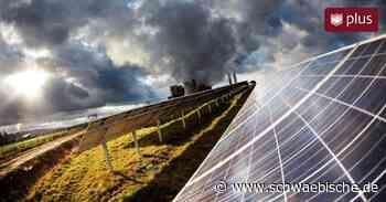 In Dettingen könnte schon bald ein Solarpark entstehen - Schwäbische