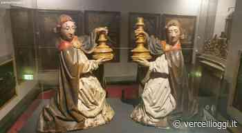 """CASALE MONFERRATO - Due sculture lignee del Museo Civico alla mostra """"Il Rinascimento europeo di Antoine de Lonhy"""" di Susa - vercellioggi.it/"""