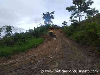 INVILARA atiende vialidad en Río Claro, Sanare y la Lara-Zulia - Noticias Barquisimeto
