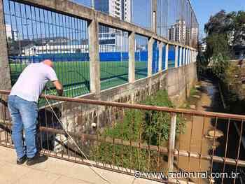 Concórdia começa a monitorar qualidade da água do rio dos Queimados - Rádio Rural