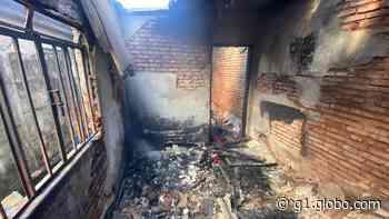Casa pega fogo e três cachorros morrem queimados em Itaúna - G1