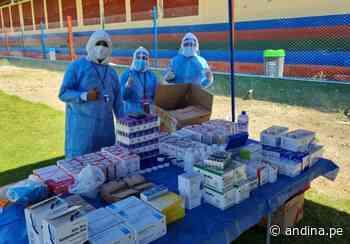 Región Moquegua: mañana inician vacunación en provincia Sánchez Cerro - Agencia Andina