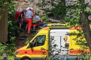 Wolkensteiner Schweiz: Erneuter Kletterunfall wirft Fragen auf - Freie Presse