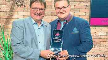 Auszeichnung geht nach Baiersbronn - Tophotel-Newcomer-Award für Hotel Sackmann in Schwarzenberg - Schwarzwälder Bote