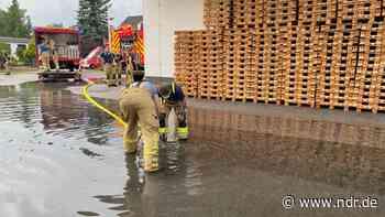Starkregen in SH: Region um Uetersen besonders betroffen - NDR.de