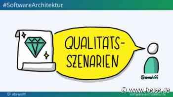 software-architektur.tv: Qualitätsszenarien für die Softwarearchitektur - heise online