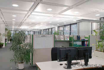 Deckensegel-Sonderlösung - DETAIL.de - das Architektur und Bau-Portal