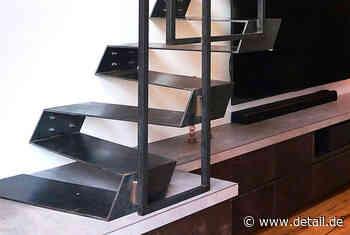 Minimalistische Treppenlösung für kleine Räume - DETAIL.de - das Architektur und Bau-Portal
