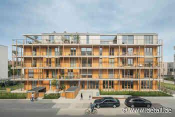 Grüner Hybrid: Wohn- und Bürogebäude Evergreen in Mannheim - DETAIL.de - das Architektur und Bau-Portal