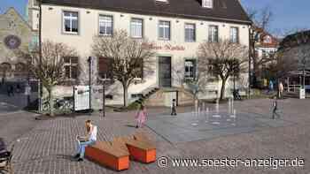 Stadtquellen Werl: Neuer Entwurf für Buchstaben-Bänke - soester-anzeiger.de