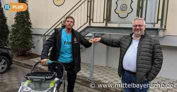 Extremläufer macht Station in Berching - Mittelbayerische