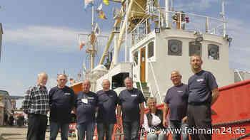 """Feuerschiff """"Fehmarnbelt"""" ist im Kommunalhafen von Heiligenhafen zu besichtigen - fehmarn24.de"""