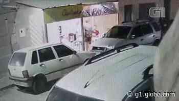 VÍDEO: Câmeras mostram roubo em bar de Santa Cruz do Capibaribe - G1