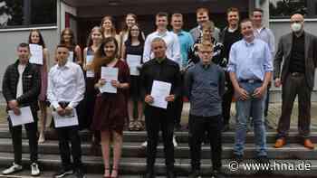 Mittelpunktschule Goddelsheim verabschiedet drei Abschlussklassen - HNA.de