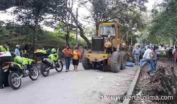 Falleció un motociclista tras ser arrollado por una motoniveladora en el Guamo - Alerta Tolima