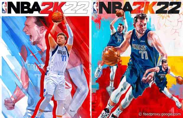 Luka Doncic Revealed As Nba 2k22 Cover Athlete Basketball News Newslocker