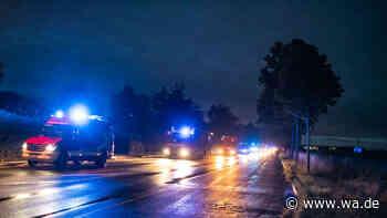 Starkregen: Knapp 30 Feuerwehrfahrzeuge fahren von Drensteinfurt aus ins Hochwassergebiet nach Aachen - wa.de