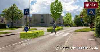 Biberach: Der Minikreisel wird mal wieder umgebaut - Schwäbische