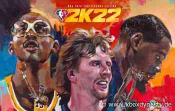 NBA 2K22: Kareem Abdul-Jabbar, Dirk Nowitzki und Kevin Durant als Cover-Athleten - Xboxdynasty