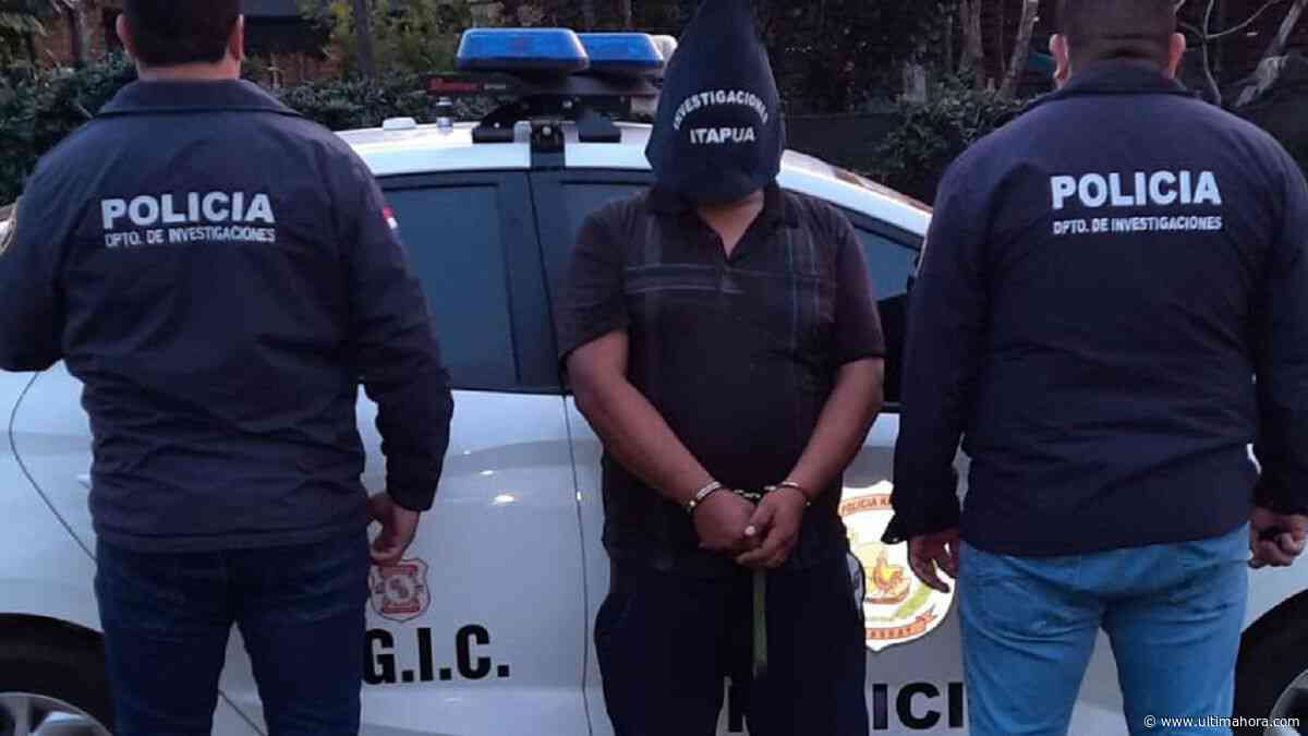 Detienen a mototaxista sospechoso de abuso sexual en Cambyretá - ÚltimaHora.com