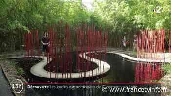 Chaumont-sur-Loire : les jardins exceptionnels attirent les visiteurs - Franceinfo