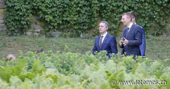 Ignazio Cassis renoue le dialogue avec Bruxelles - Le Temps
