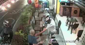 Revelan video de hurto en Sabaneta que terminó en balacera y con un muerto - Noticias Caracol