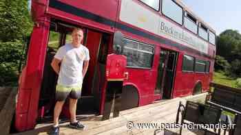 Près de Pont-Audemer, à Saint-Philbert-sur-Risle, il est possible de dormir dans… un bus londonien - Paris-Normandie