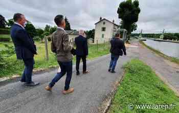La ville de Briare à l'épreuve du jury pour défendre sa quatrième fleur au label des Villes et Villages fleuris - La République du Centre