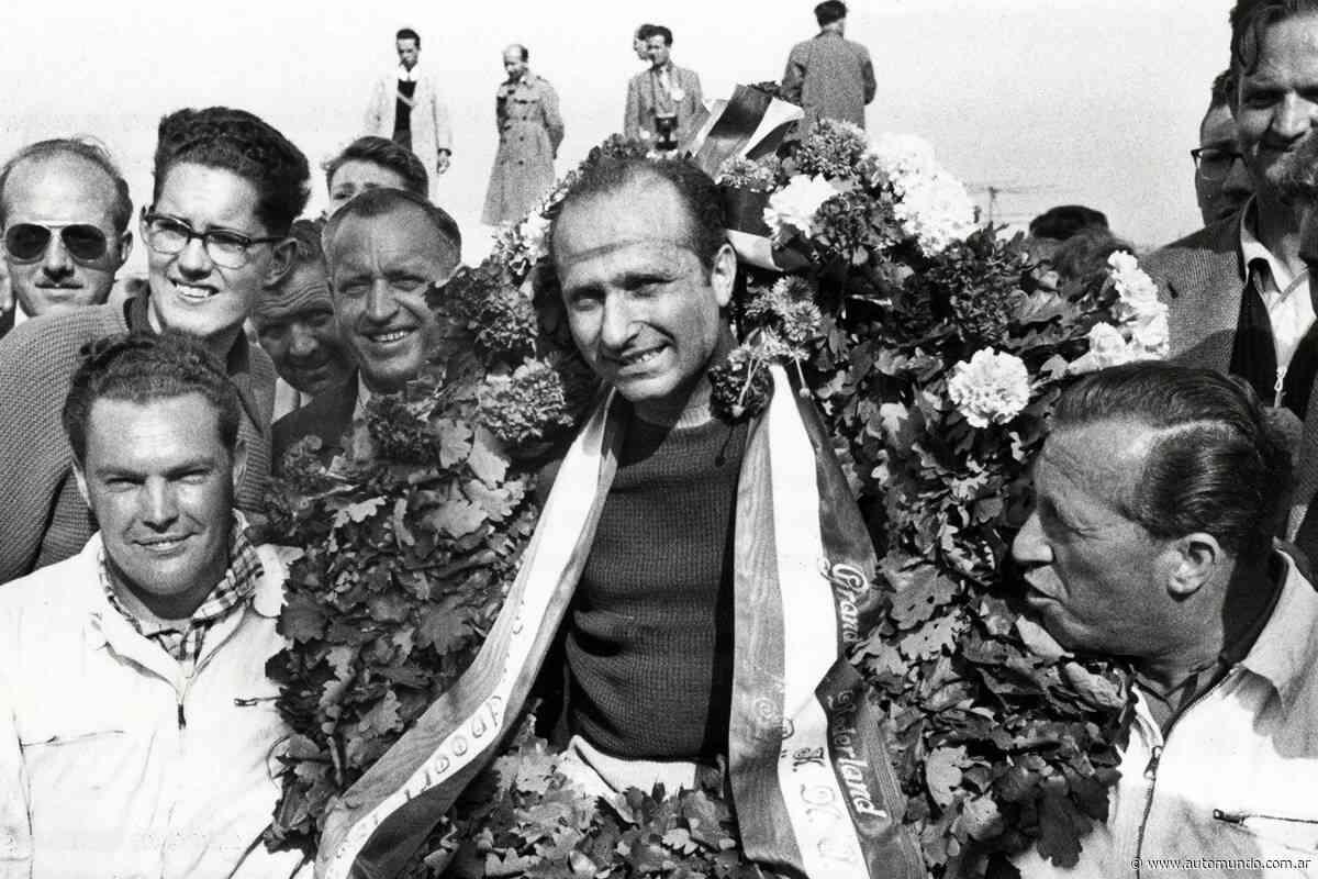 Una vieja costumbre vuelve a la Fórmula 1... La corona de laureles - Noticias de Fórmula 1 en Automundo
