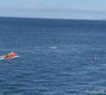 Georgina Taylor rescues two teenagers off Castle Hill - rnli.org