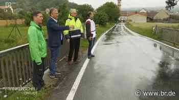 Hochwasserschutz-Konzept für neun Kommunen an der Volkach - BR24